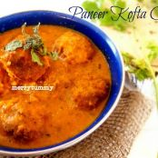 Paneer Kofta Curry / Cottage Cheese Dumplings Curry- A Royal Treat