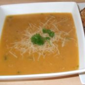 Leek and Sweet Potato Soup