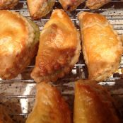 Little Rhubarb and Apple Turnovers