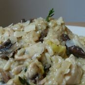 Chicken & thyme risotto