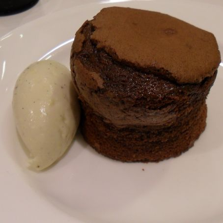 Melt in the Heart Chocolate Fondant