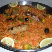 Spicy Sausage  Paella