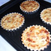 Two Cheese Mini Quiche