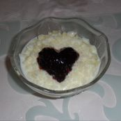 Romantic Baked Rice pudding