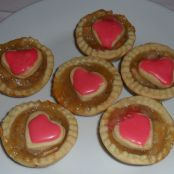 Mini Sweetheart Apple Tarts
