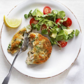 Salmon & broccoli cakes