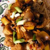 Tofu and Black Bean Noodles