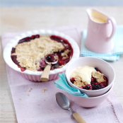 Summer Fruits Crumble with Ambrosia Devon Custard