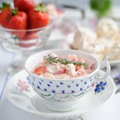Sweet Eve Strawberry and Lavender Eton Mess
