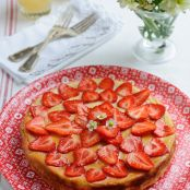 Sweet Eve Strawberry, Ricotta and Lemon Thyme Cheesecake