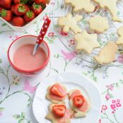 Sweet Eve Strawberry Shortbreads