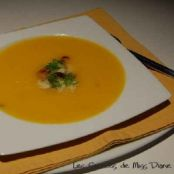 Butternut squash and fennel soup