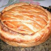 Beef and potato pie