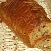 Ham and confit tomato savoury loaf cake