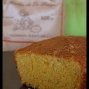 Corn flour bergamot orange loaf cake