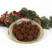 Christmas Truffles with Amaretto
