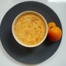 Creat treat with organic apricots