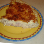 Easy home-made quiche