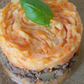 Shepherd's pie with carrots