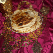 Tunisian Carrot naan bread or Mtabga