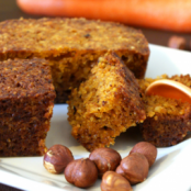 Carrot cake with hazelnuts, or not!
