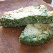 Light Spinach Flan without pastry