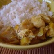 Curry Chicken with Mango