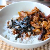 Teriyaki Chicken and Shiitake Mushrooms