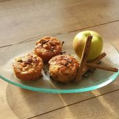 Toffee apple muffins.