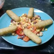 Fish Finger Salad