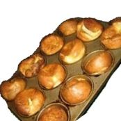 Fluffy yorkshire puddings