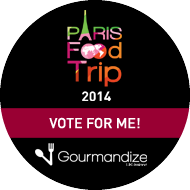 Vote for me to go to the Paris Food Trip 2014!