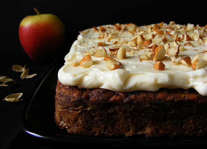 Cake Recipes Using Quinces: Recipe: Apple Cardamom Cake With Quince Frosting, Rated 3